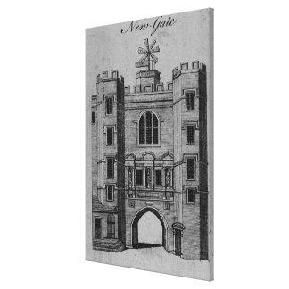 View of Newgate Canvas Print