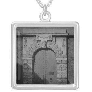 View of Newgate Silver Plated Necklace