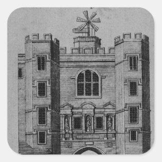 View of Newgate Square Sticker
