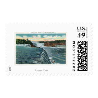 View of Niagara Falls from Prospect Point Postage