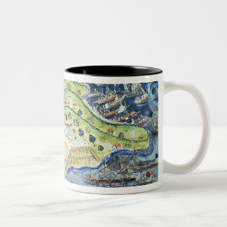 View of Nice, from the 'Suleymanname' Mugs