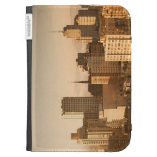 View of Nob Hill in San Francisco, with the fog Kindle Covers