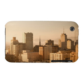 View of Nob Hill in San Francisco with the fog Case-Mate iPhone 3 Cases