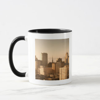 View of Nob Hill in San Francisco, with the fog Mug