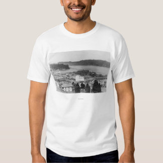 View of North Bend, Oregon Photograph Shirts