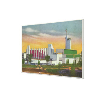 View of North Entrance, Hall of Science Canvas Print