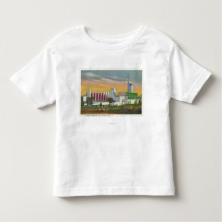 View of North Entrance, Hall of Science T-shirt
