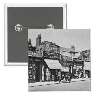 View of Notting Hill Gate c 1913 Pinback Button