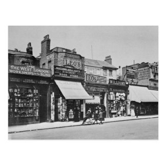 View of Notting Hill Gate, c.1913 Postcard