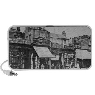 View of Notting Hill Gate, c.1913 Notebook Speaker