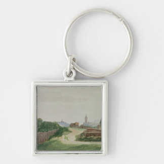 View of Nuremberg, 1496-97 Keychain