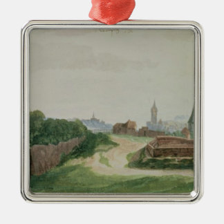 View of Nuremberg, 1496-97 Metal Ornament