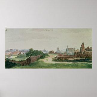 View of Nuremberg, 1496-97 Poster