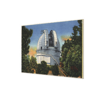 View of Observatory & Telescope Dome Canvas Print