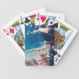 View of Ocean Bicycle Playing Cards