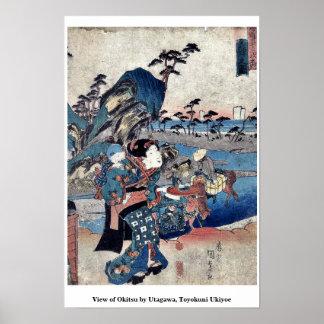 View of Okitsu by Utagawa, Toyokuni Ukiyoe Print