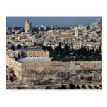 View of Old City from Mount of Olives, Jerusalem, Post Cards