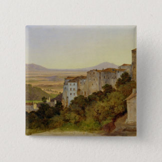 View of Olevano, 1821-24 Button
