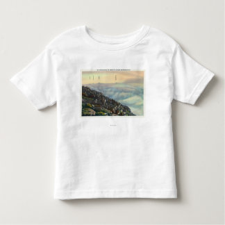 View of Other Adirondack Mts above the Clouds T-shirts