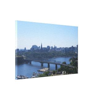 View of Ottawa Canvas Print