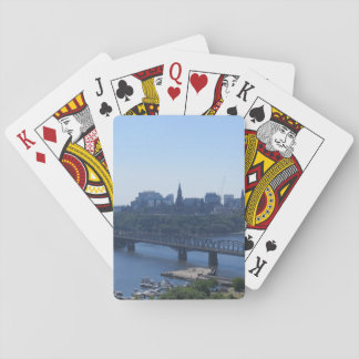 View of Ottawa Playing Cards