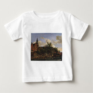 View of Oudezijds Voorburgwal with the Oude Kerk Baby T-Shirt