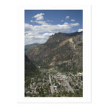 view of ouray post cards