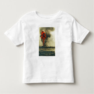 View of Pacific Crude Gusher FireFellows, CA Toddler T-shirt