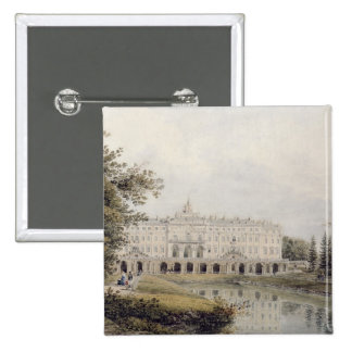 View of Palace of Strelna near St. Petersburg Pinback Button