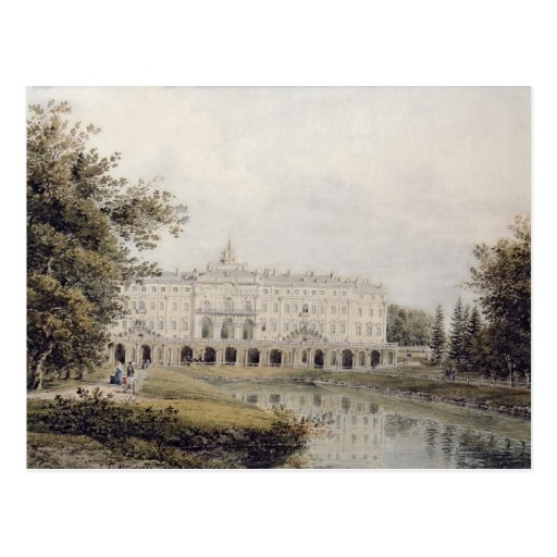 View of Palace of Strelna near St. Petersburg Postcard