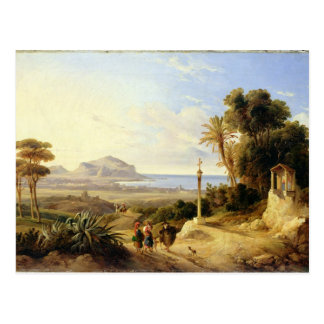 View of Palermo, 1840 Postcards