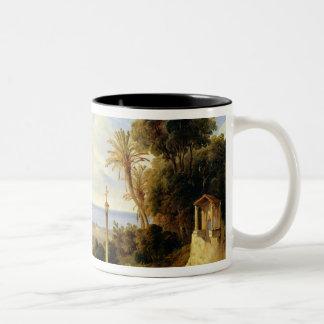 View of Palermo, 1840 Two-Tone Coffee Mug