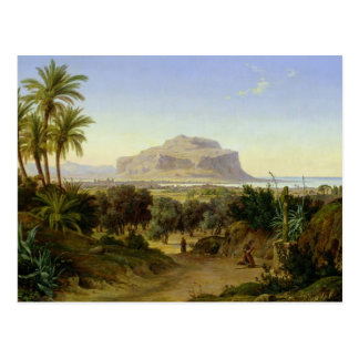 View of Palermo with Mount Pellegrino Post Cards
