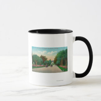 View of Palm Avenue at Sutro Heights Mug