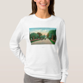 View of Palm Avenue at Sutro Heights T-Shirt