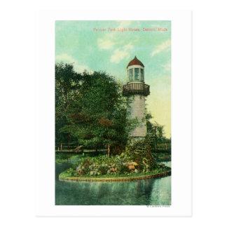 View of Palmer Park LighthouseDetroit, MI Postcard