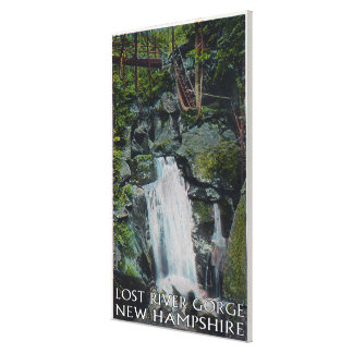 View of Paradise Falls Canvas Print