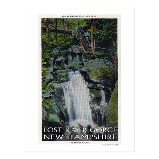 View of Paradise Falls Postcard