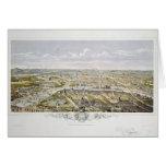 View of Paris from Bois de Boulogne