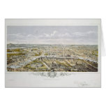 View of Paris from Bois de Boulogne Card