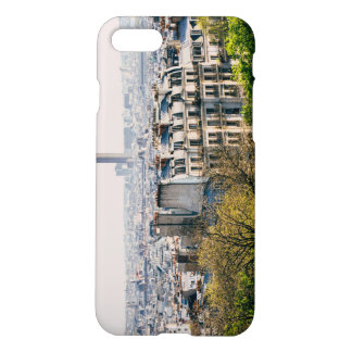 View of Paris From Montmartre Hill iPhone 8/7 Case