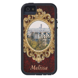 View of Paris From Montmartre Hill iPhone SE/5/5s Case