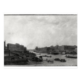 View of Paris from the Pont-Neuf, c.1800 Postcard