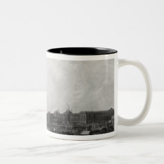 View of Paris from the Pont-Neuf, c.1800 Two-Tone Coffee Mug