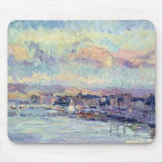 View of Paris (oil on canvas) Mouse Pad