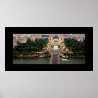 View of Paris Poster