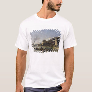 View of Paris, the Seine or l'Estacade, 1853 T-Shirt