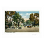 View of Park and Fairfield Avenues Postcard