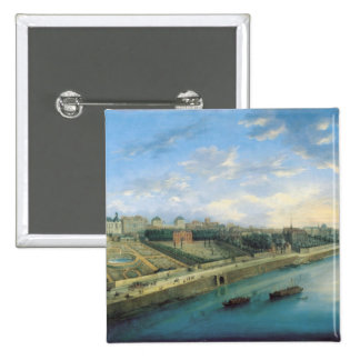 View of Passy and Chaillot from Grenelle Pinback Button