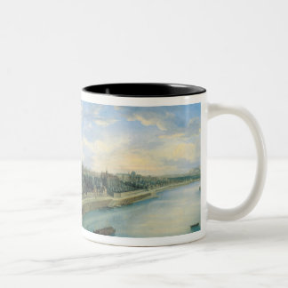 View of Passy and Chaillot from Grenelle Two-Tone Coffee Mug